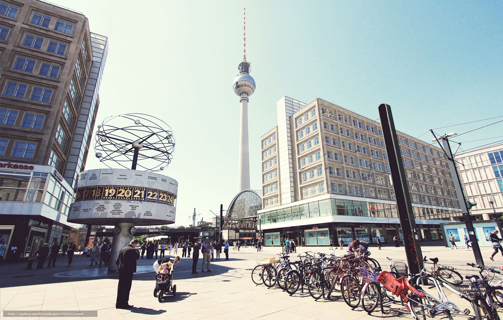 River Alexander s Gallery berlin alexanderplatz germaniya gorod berlin plosh X www wallpapers