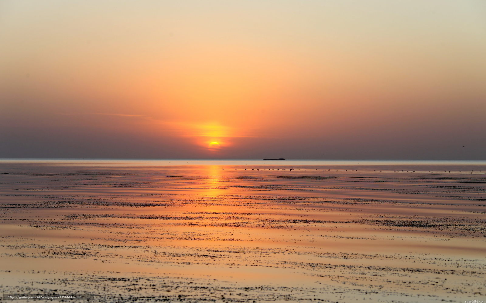 Tlcharger Fond d'ecran coucher du soleil, mer, Nature ...