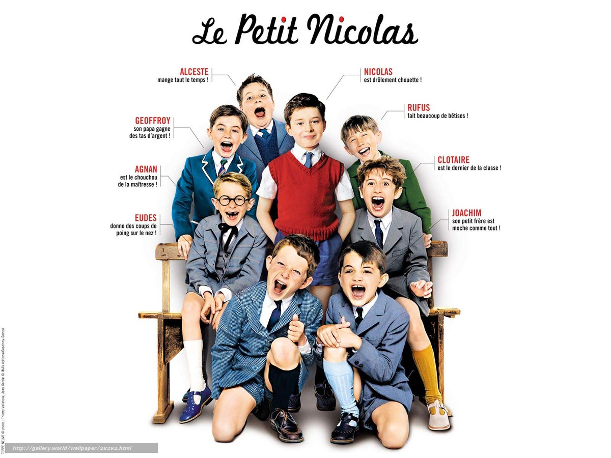 download wallpaper Мален�кий Николя le petit nicolas