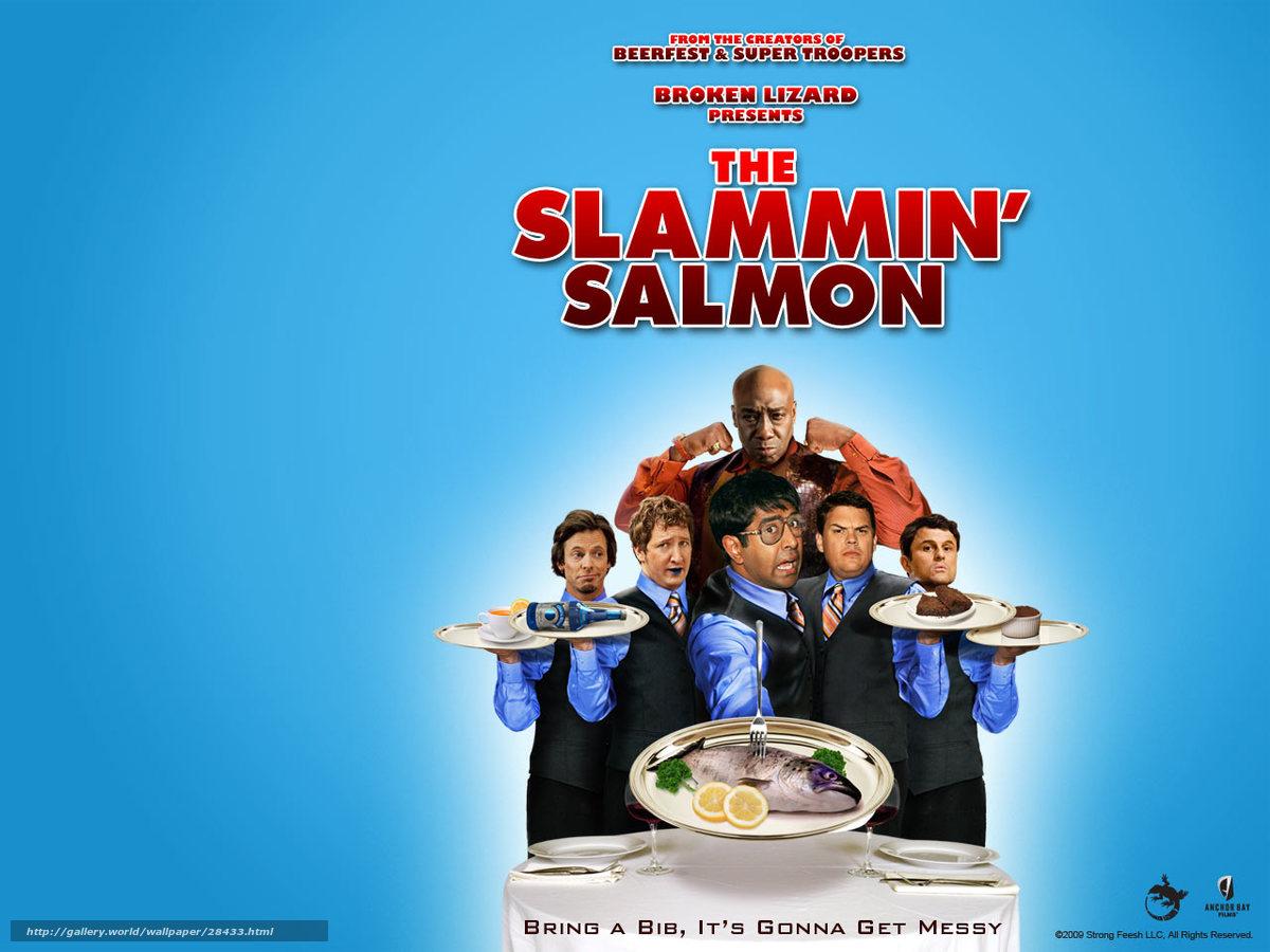 Download wallpaper Верзила Салмон, The Slammin' Salmon ...