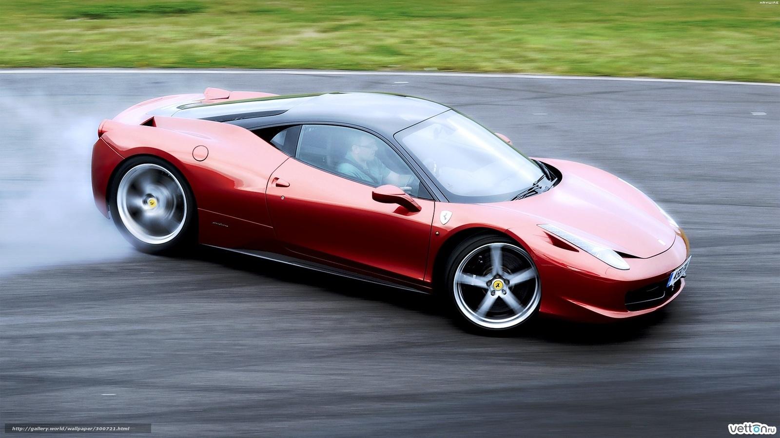壁紙をダウンロード フェラーリ, フェラーリ, 赤, ドリフト デスクトップの解像度のための無料壁紙 ...