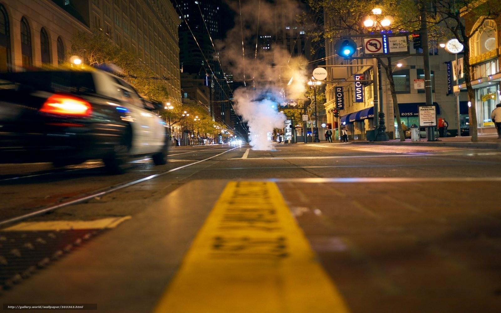 city street lights night - photo #8