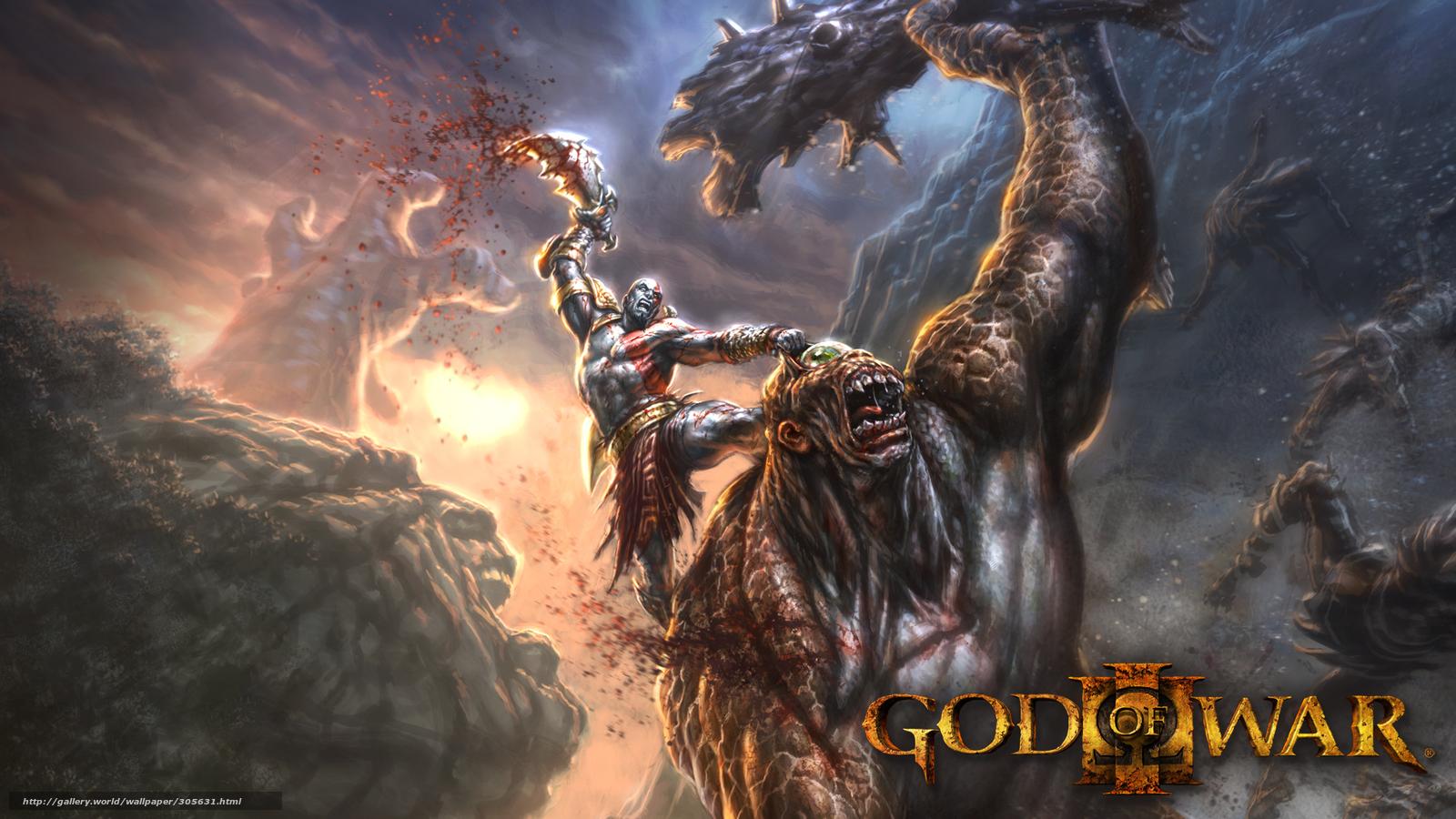 Baixar Wallpaper jogo,  Cratos,  deus da guerra Papis de parede grtis na resoluo 1920x1080 — quadro №305631