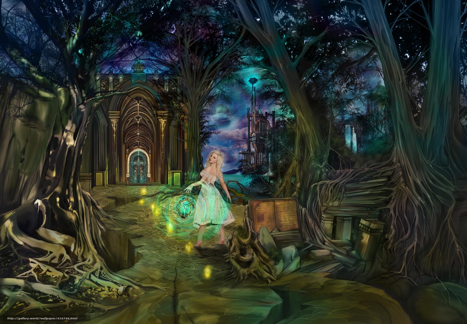 download wallpaper story magic fantasy the enchanted