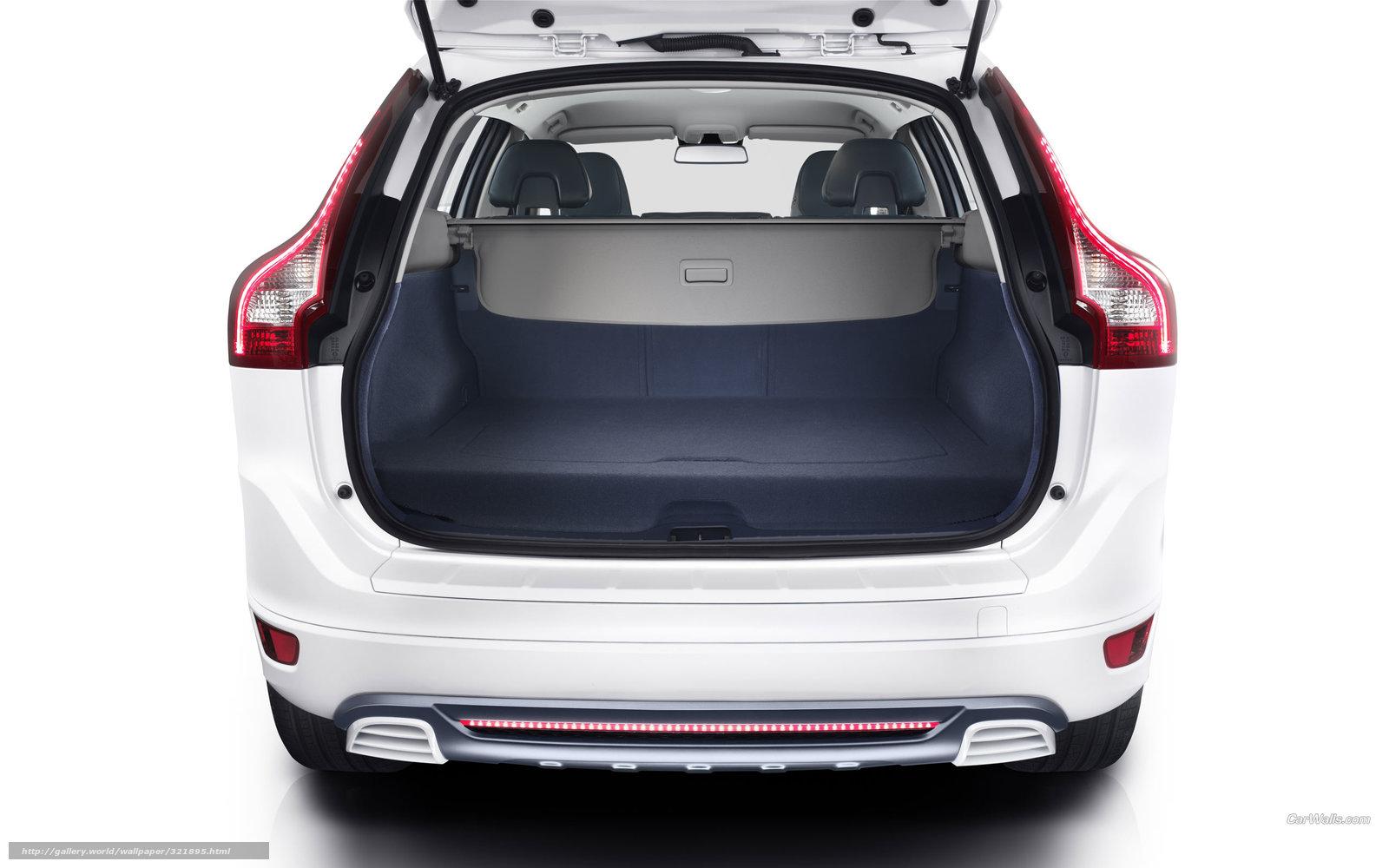沃尔沃xc60插电混动概念车 底特律亮相 沃尔沃xc60越野高清图片
