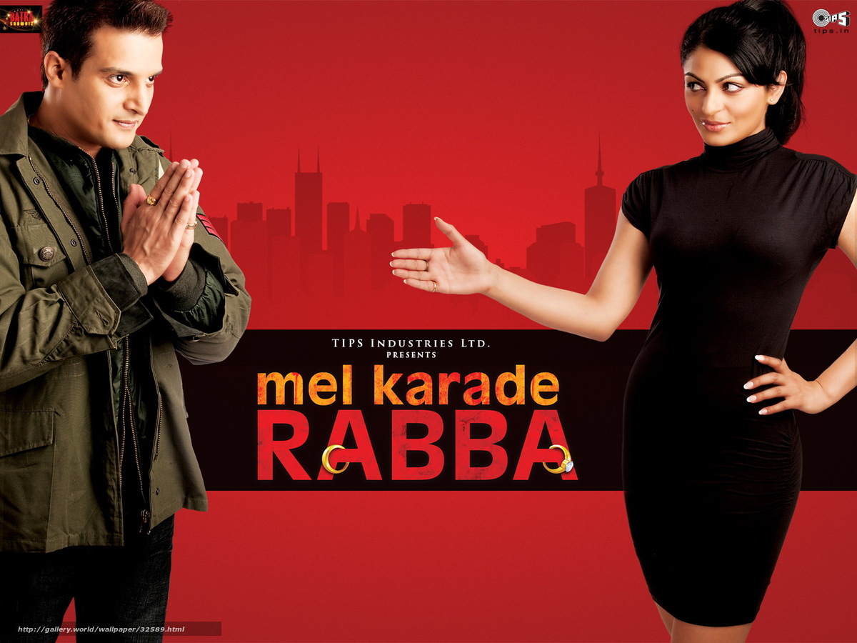 Download wallpaper Mel Karade Rabba, , film, movies free ...