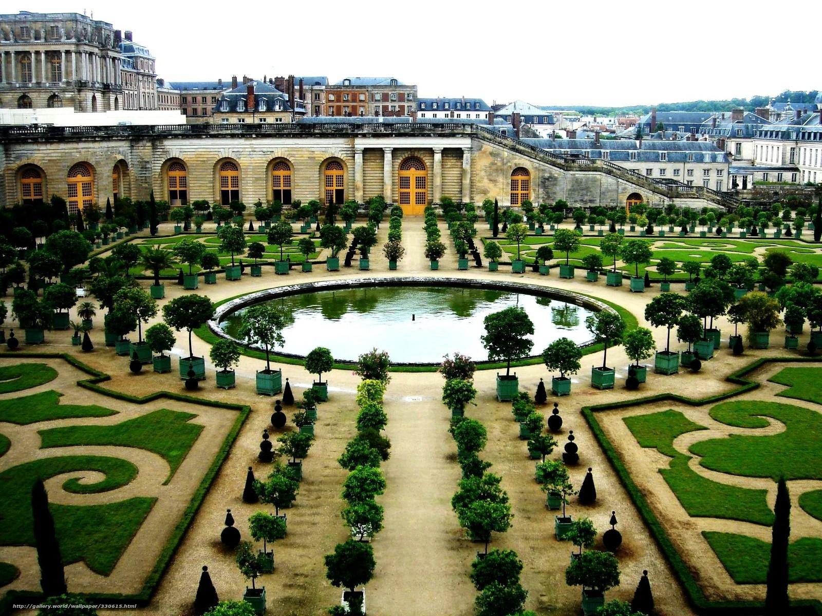 Tlcharger fond d 39 ecran france versailles jardin btiment for Versailles jardin gratuit