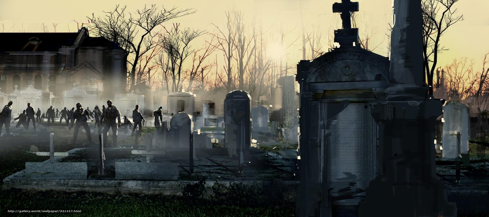 Décima Casa: Cementerio de Zombies