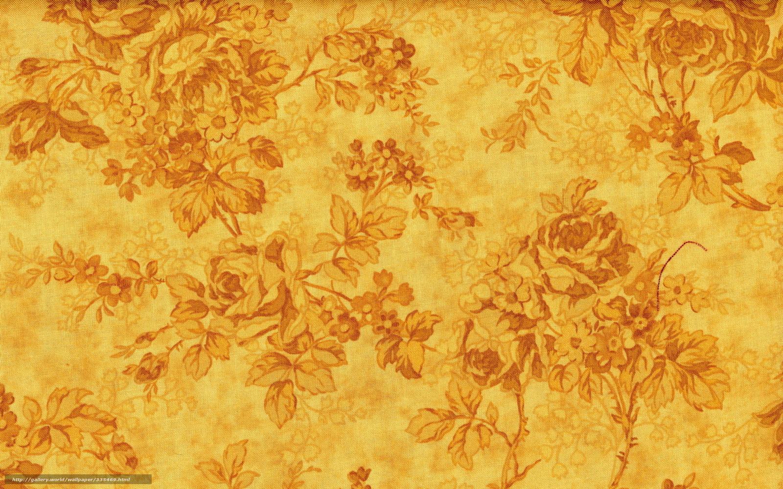 Download wallpaper texture  background  Flowers  patterns free desktop    Yellow Wallpaper Texture