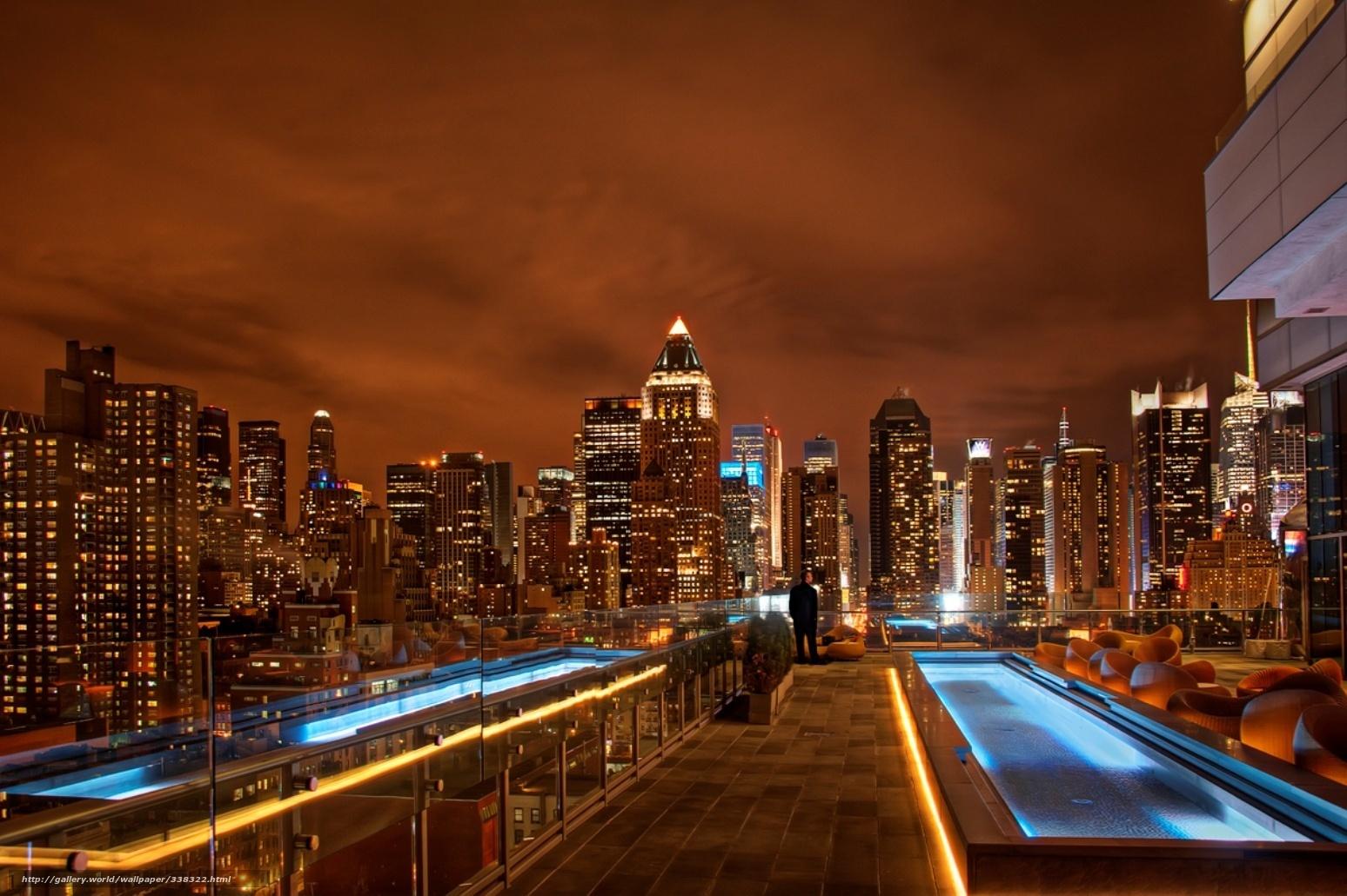 Tlcharger fond d 39 ecran new york ville lumires fonds d for Ville a new york