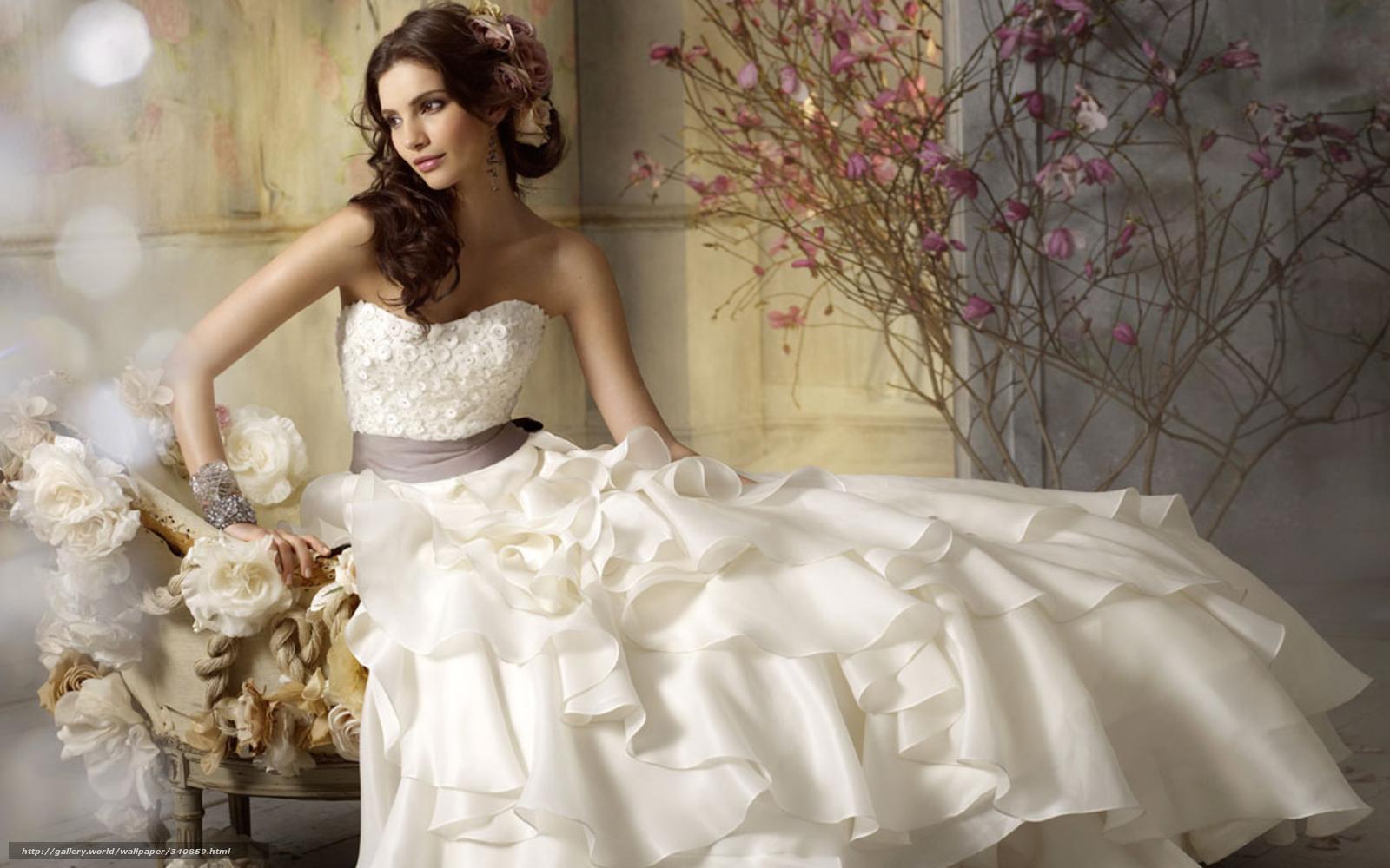 HD wallpaper Download wallpaper bride dress white Flowers free desktop wallpaper The Bride in White Dress Wallpaper wallpaper iphone  wallpaper 4k  iphone 5s wallpaper