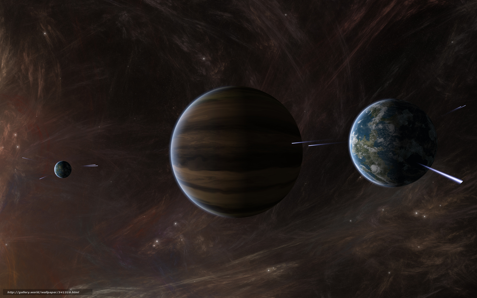 wallpapers of giant planets - photo #13