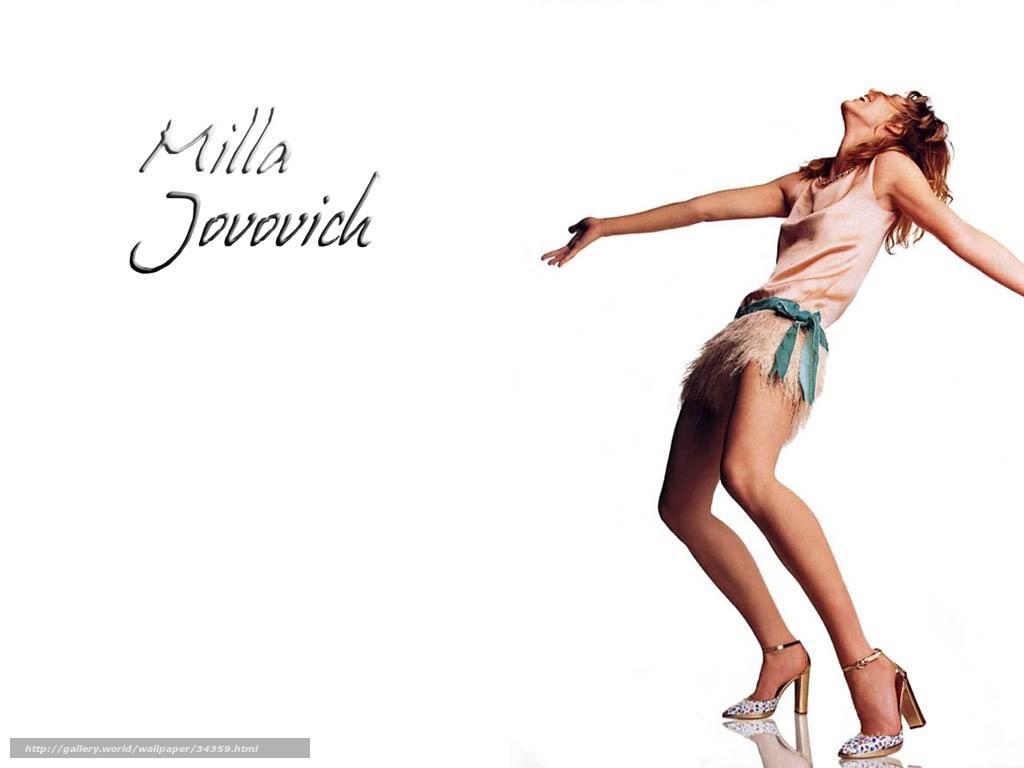 Download wallpaper Milla Jovovich, Milla Jovovich, Actors free desktop ... Milla Jovovich
