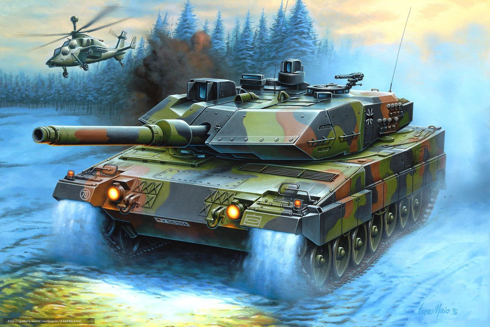 Download wallpa... Battle Tanks Wallpaper