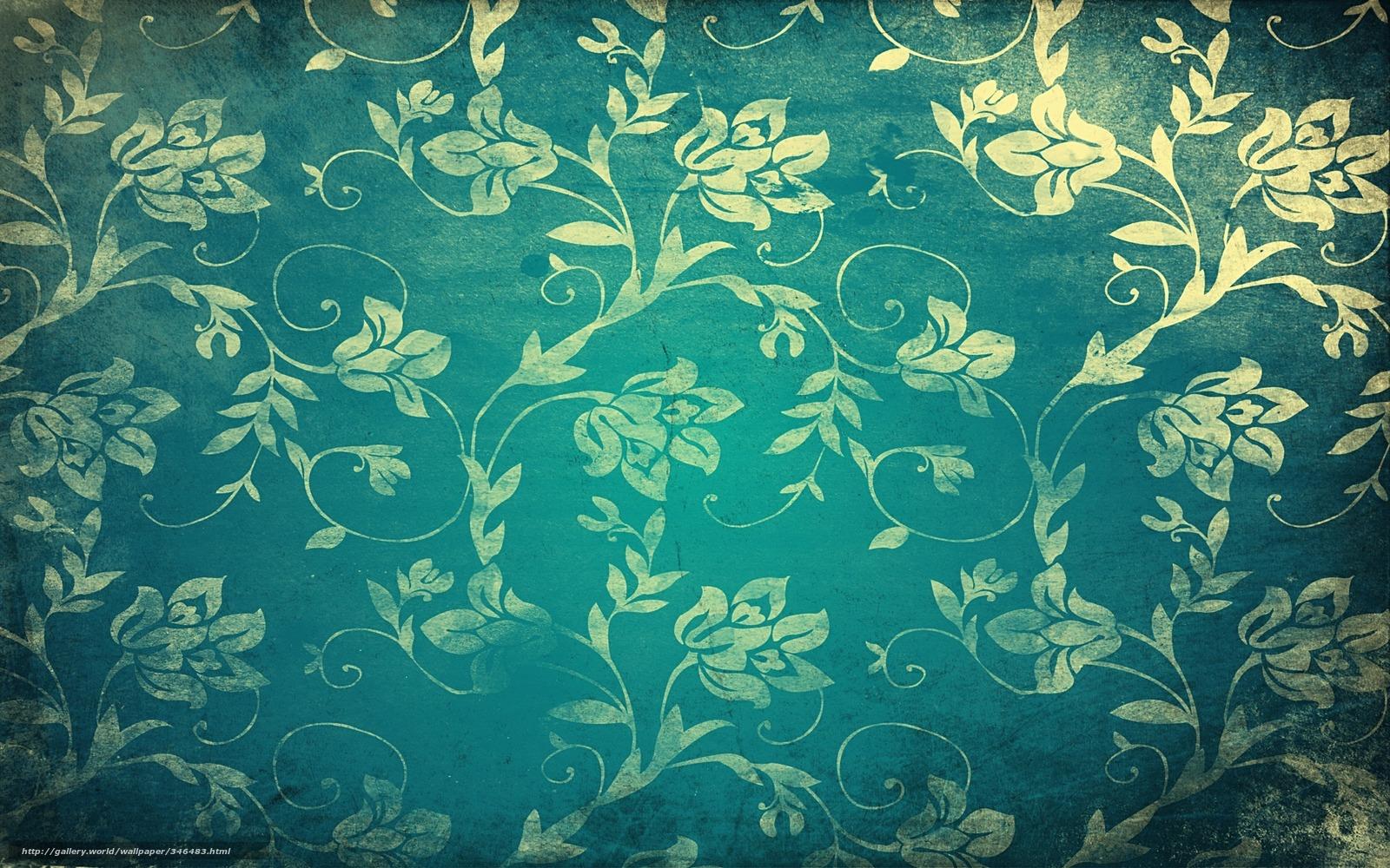 Download Hintergrund Textur Muster Blumen Linien Freie