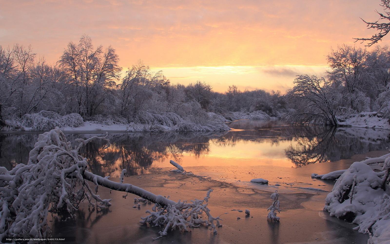 Scaricare gli sfondi inverno fiume neve sfondi gratis for Sfondi gratis desktop inverno
