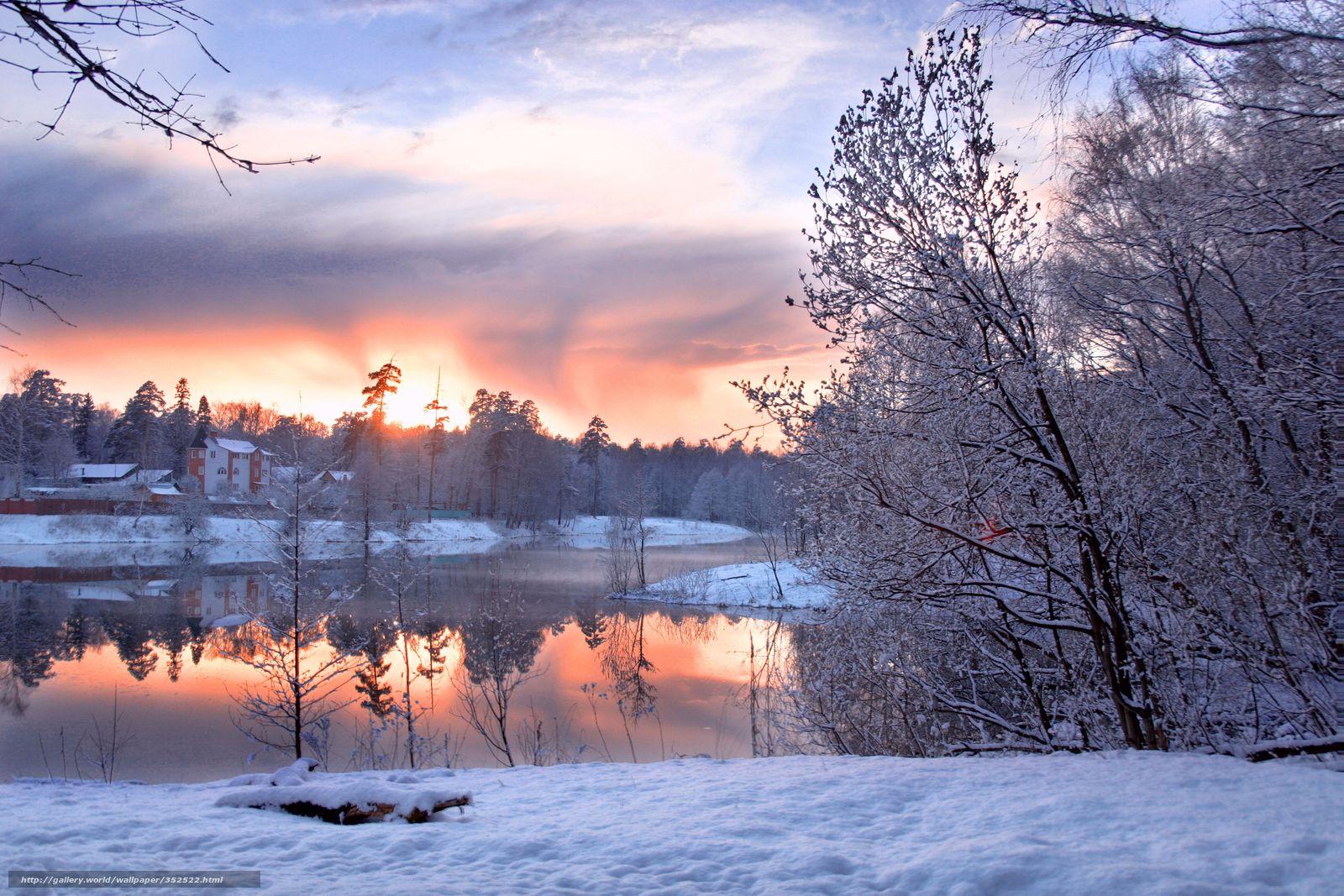 Scaricare gli sfondi inverno freddo neve cielo sfondi for Sfondi gratis desktop inverno