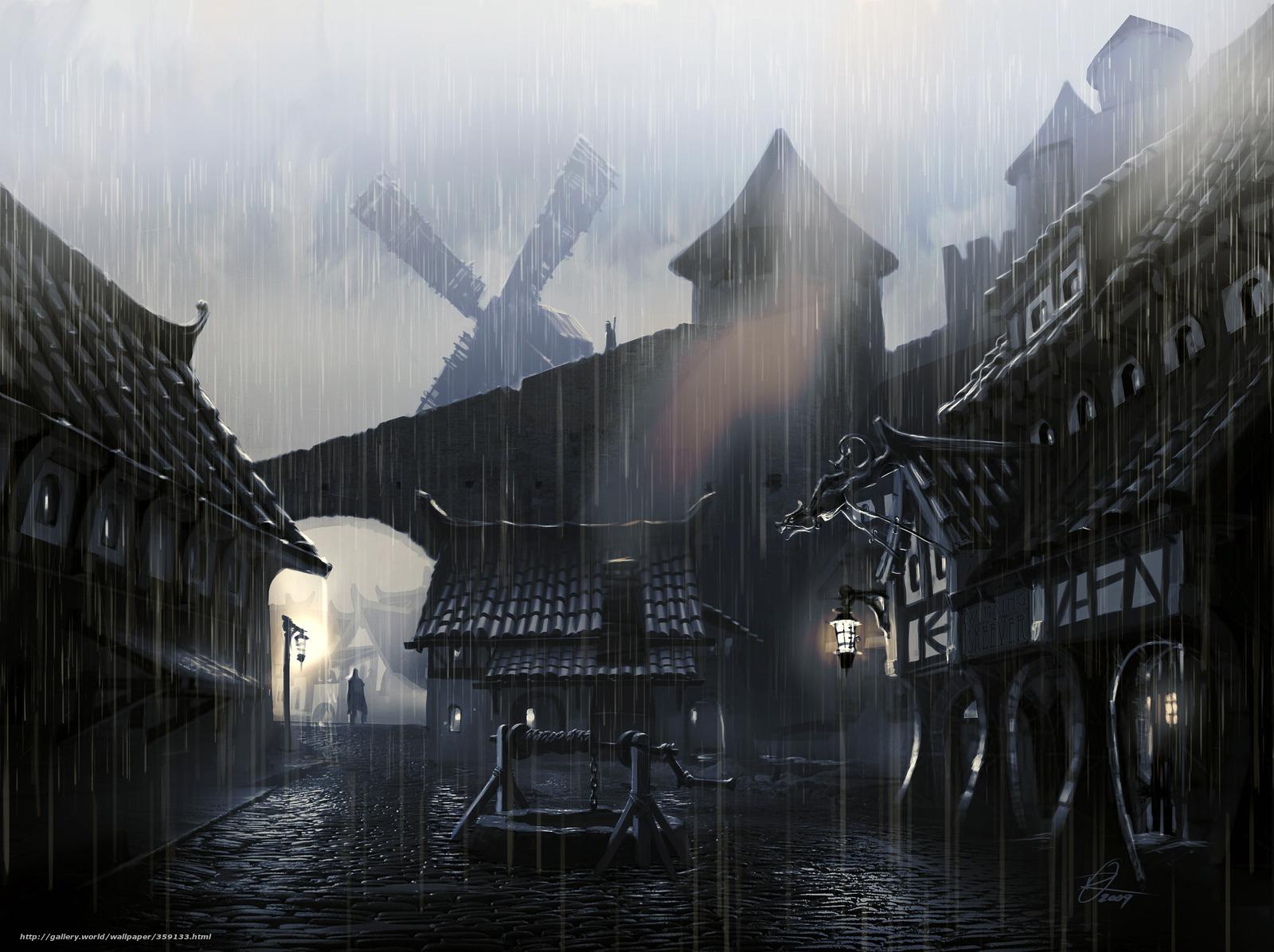 rain city wallpaper - photo #28