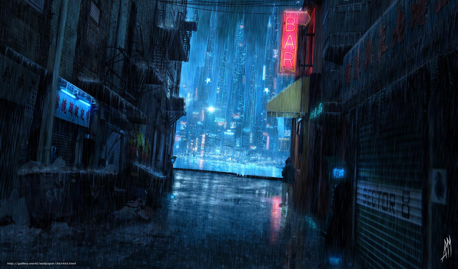 rain city wallpaper - photo #11