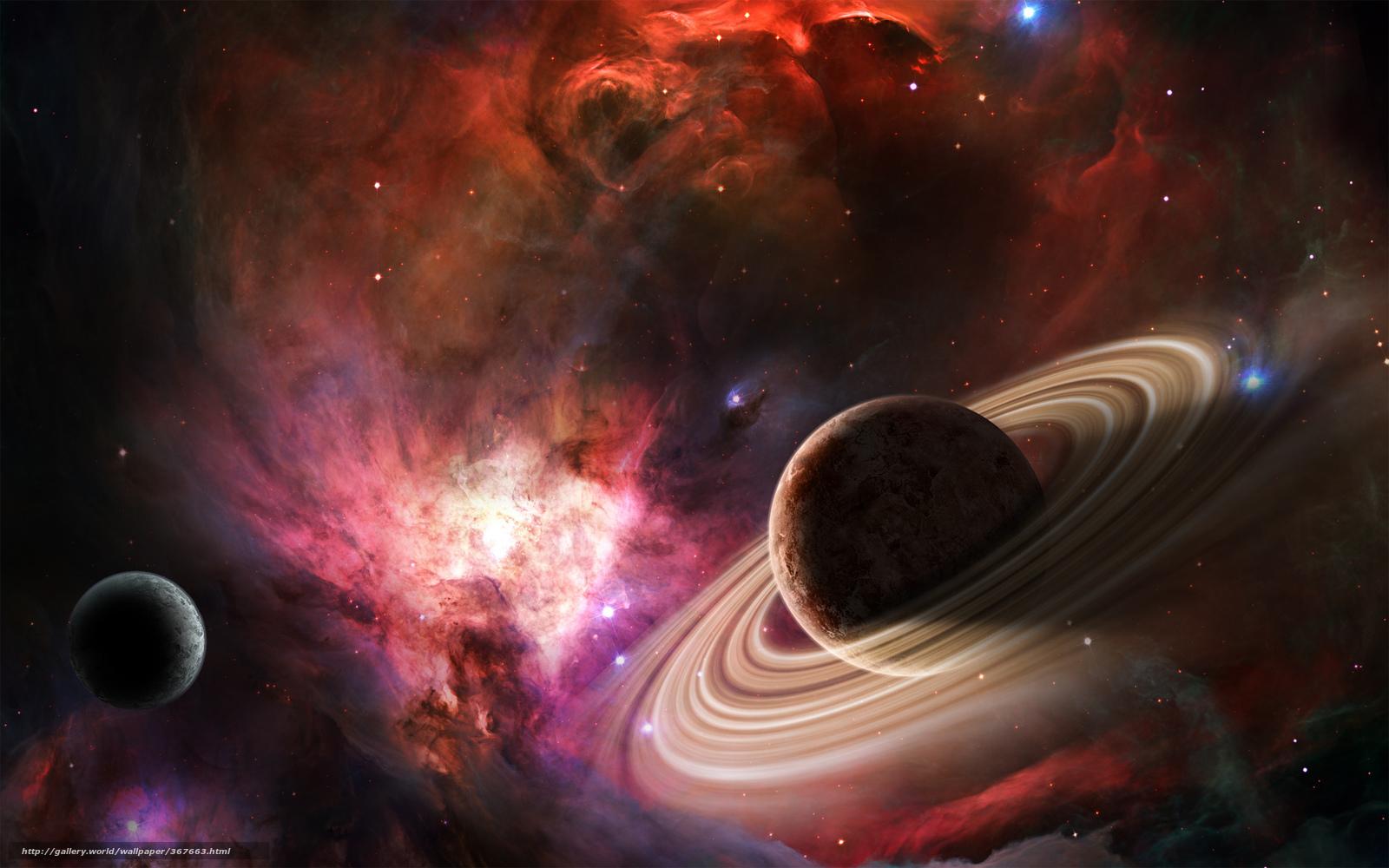 Download wallpaper space, Planet, nebula, Star free ...