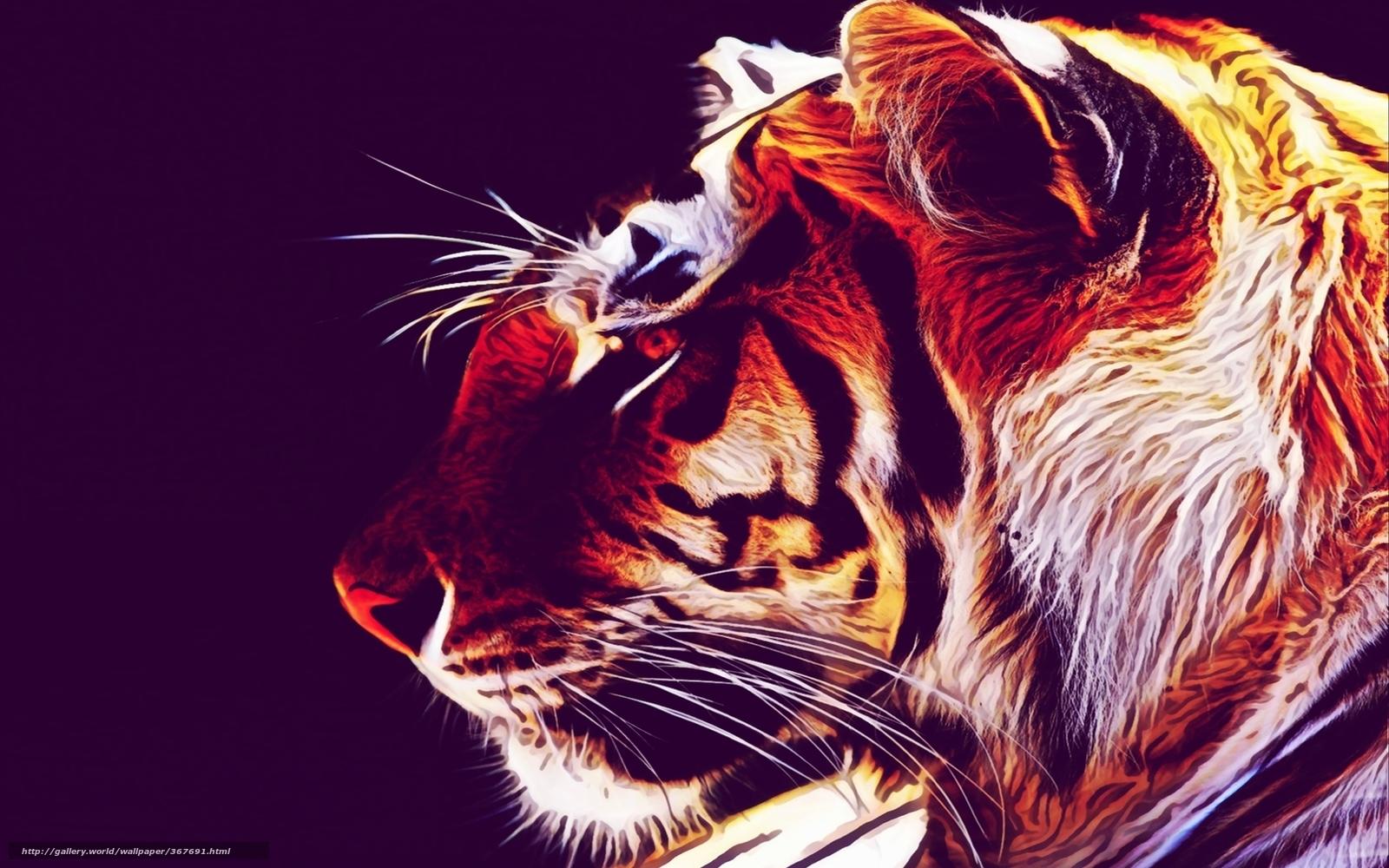 Tlcharger fond d 39 ecran tigre papier peint fond style for Fond decran styler