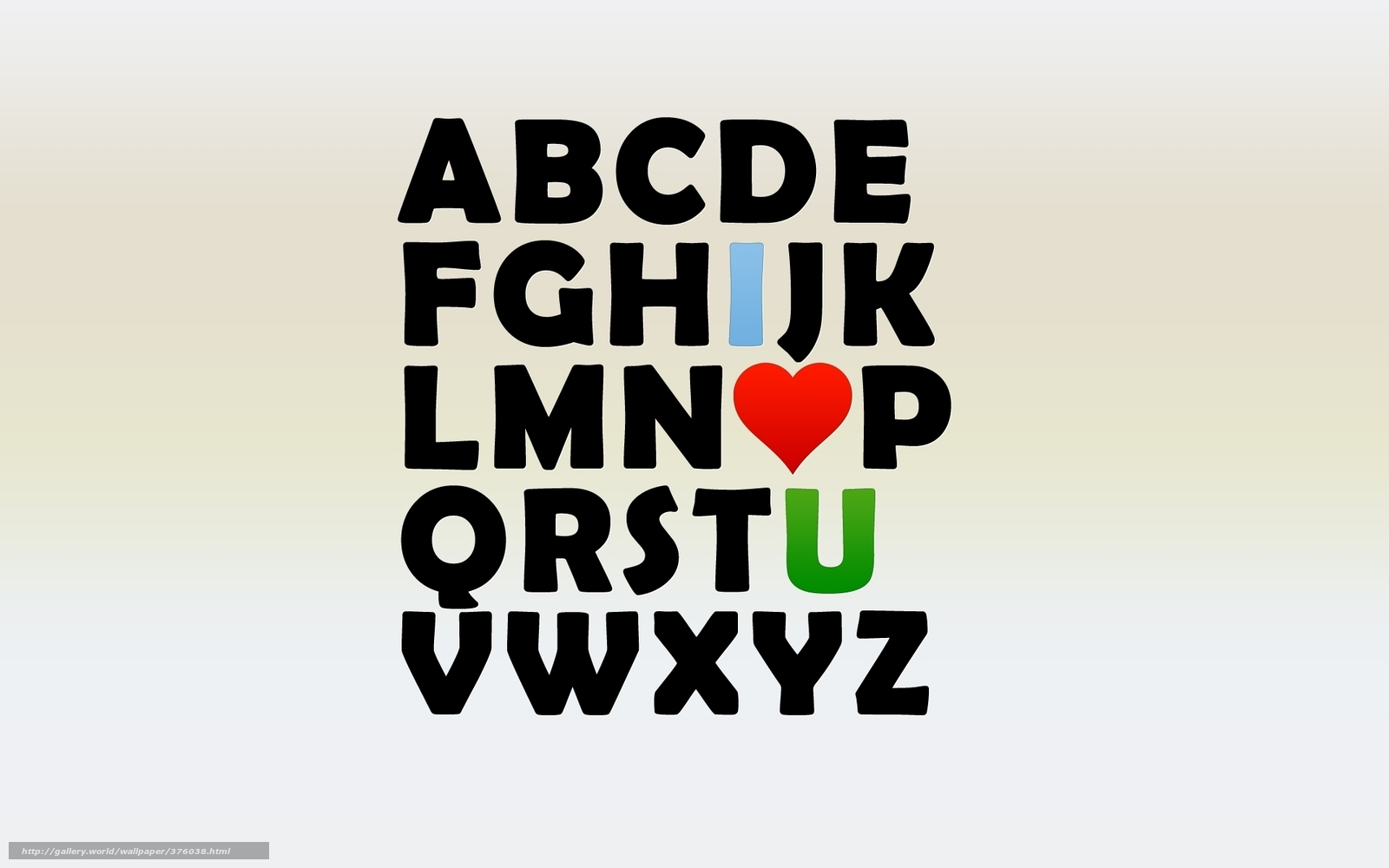 Download wallpaper Alphabet, letters, heart, love free ...