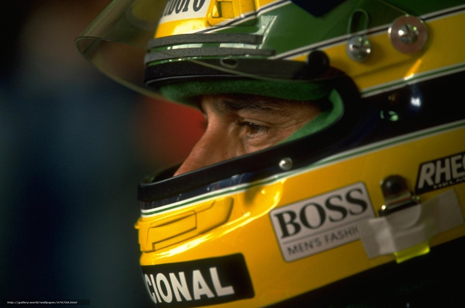 Ayrton Senna Helmet