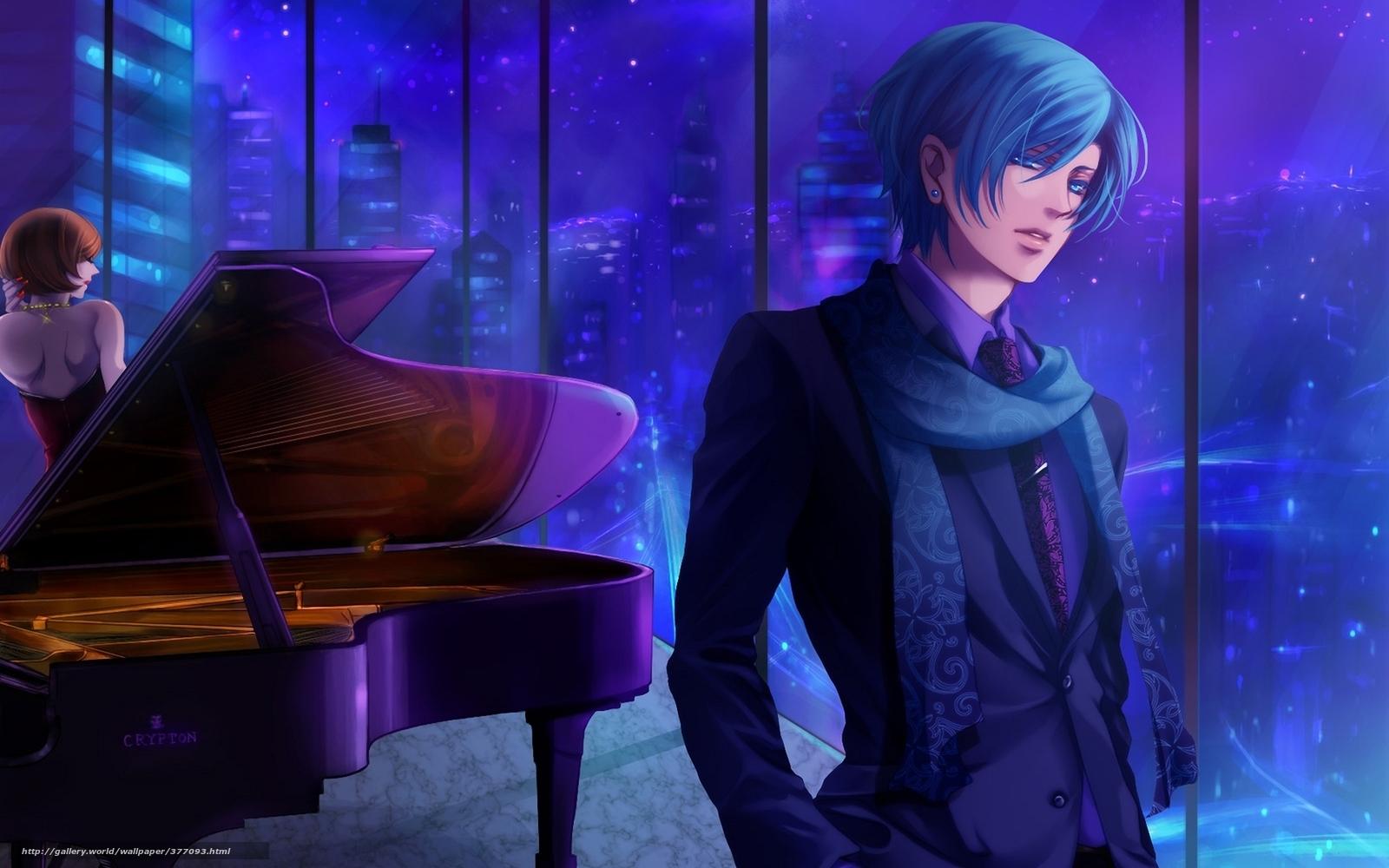 Anime Piano Guy