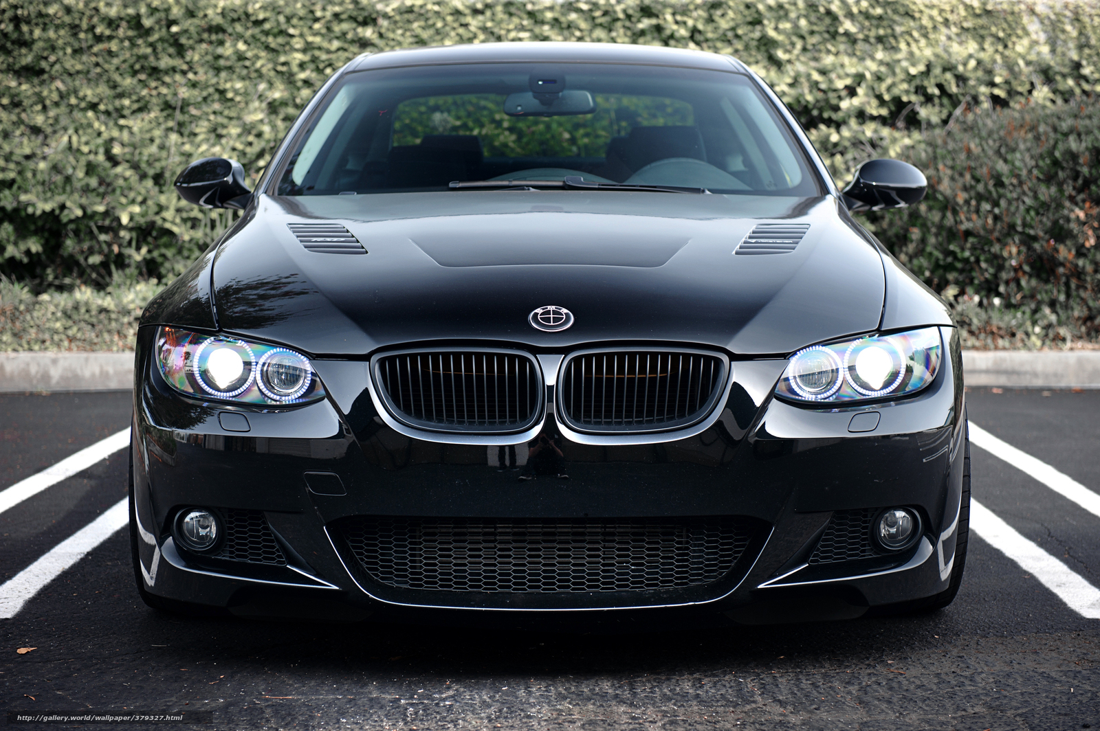 Murdered Out Cars For Sale >> Download wallpaper BMW, Black, parking, bmw free desktop wallpaper in the resolution 2560x1703 ...