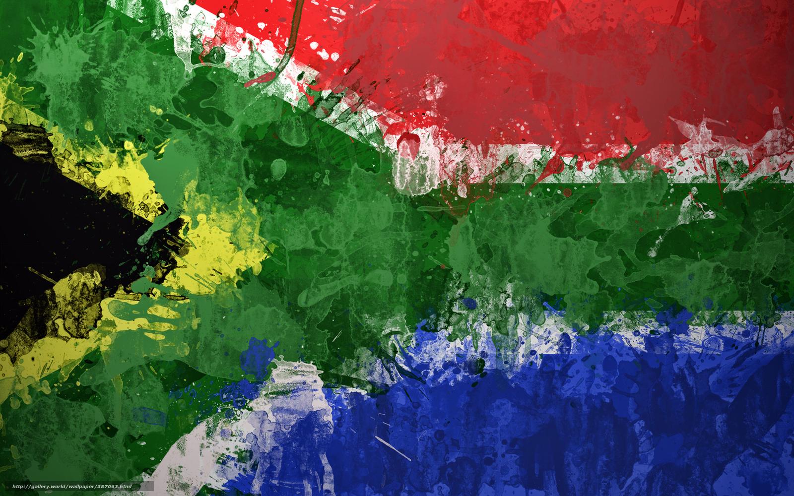 Tlcharger Fond d'ecran Afrique du Sud,  Afrique du Sud,  Afrique,  drapeau Fonds d'ecran gratuits pour votre rsolution du bureau 1680x1050 — image №387063