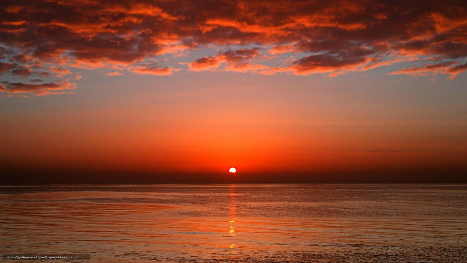 Scaricare gli sfondi tramonto alba sole mare sfondi for Foto per desktop mare