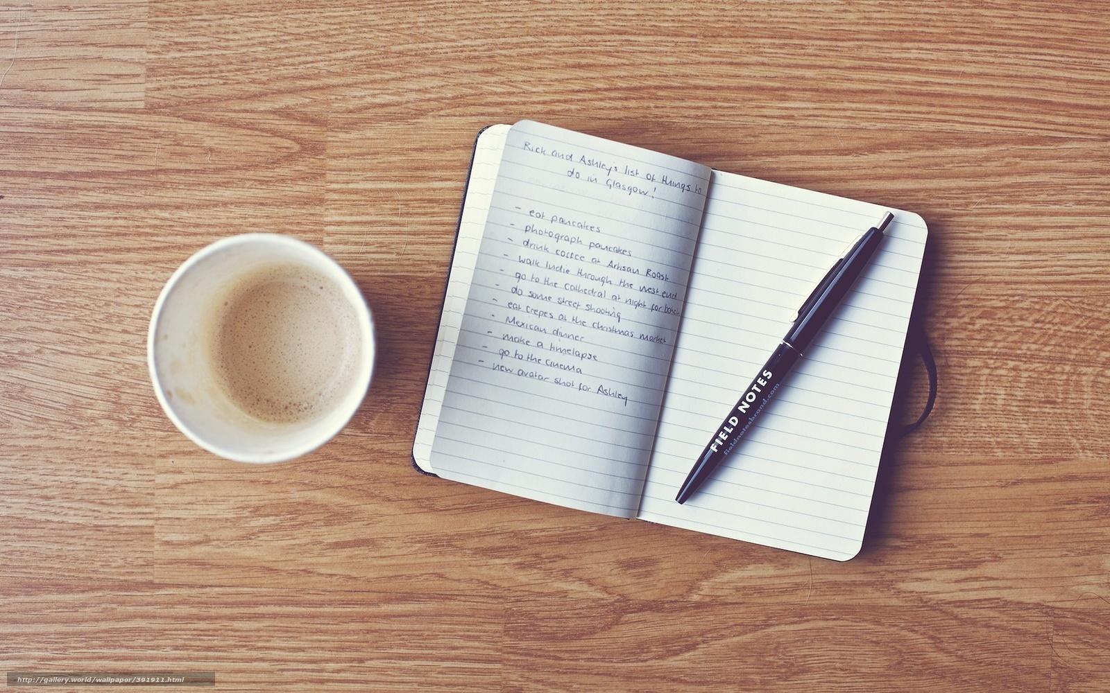 tlcharger fond d 39 ecran stylo caf cahier enregistrement fonds d 39 ecran gratuits pour votre. Black Bedroom Furniture Sets. Home Design Ideas