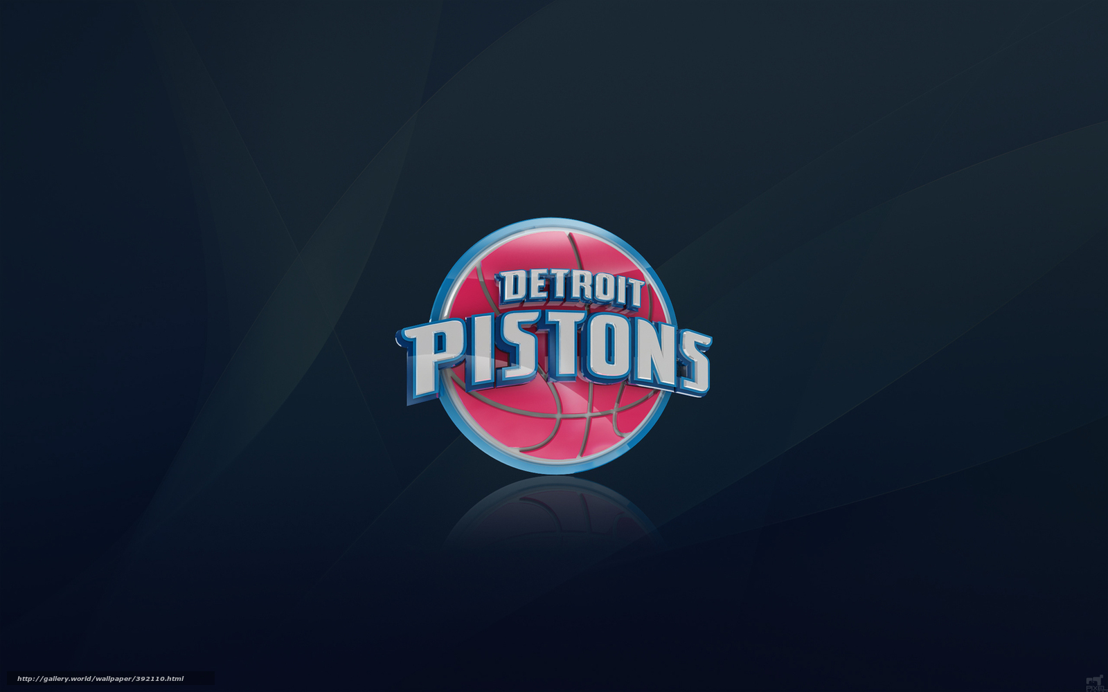 Download wallpaper basketball, logo, Sport, Detroit free ...
