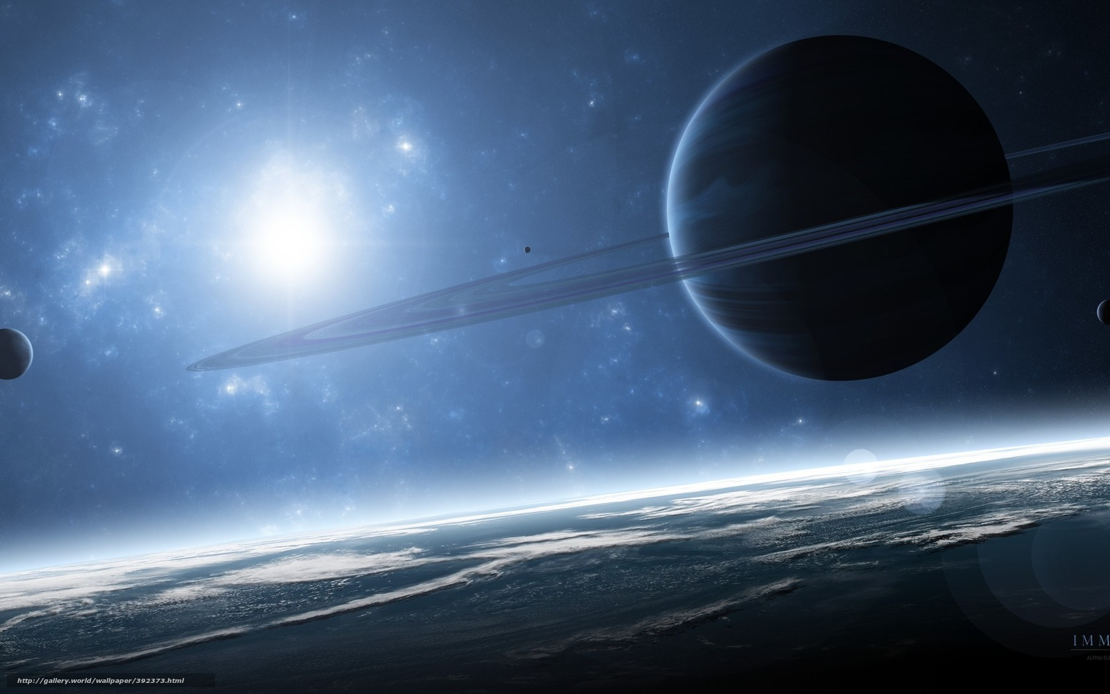 wallpapers of giant planets - photo #1