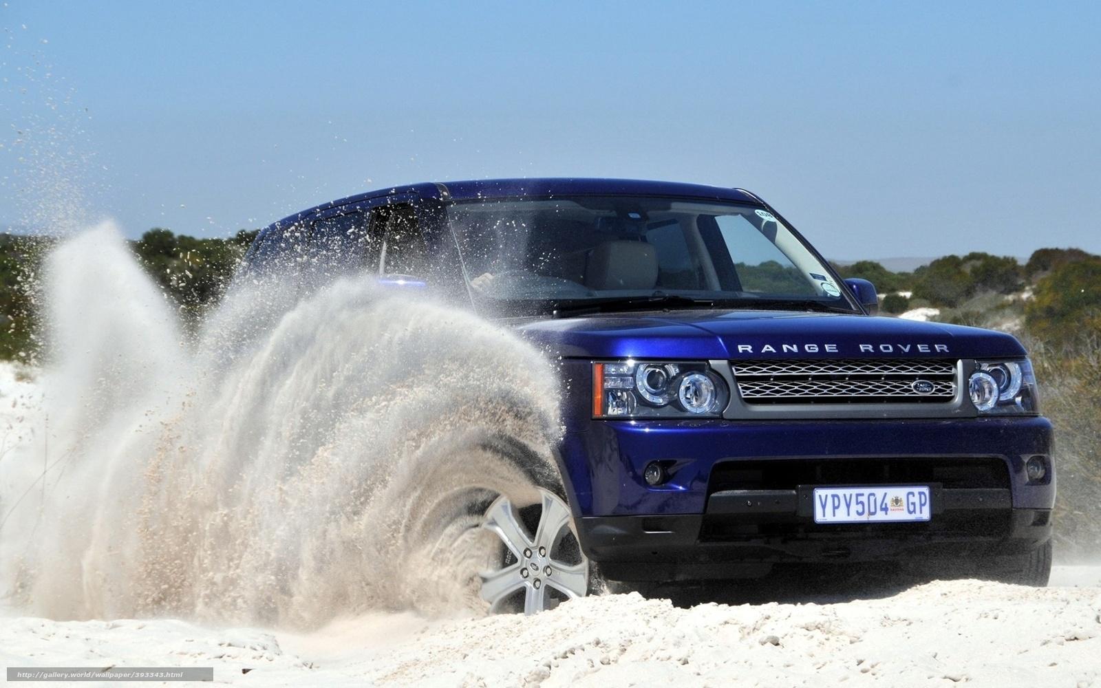 Scaricare Gli Sfondi Range Rover Camionetta Land Rover