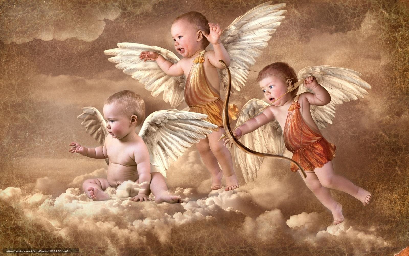 scaricare gli sfondi angeli amorini amorini nuvole sfondi gratis per la risoluzione del. Black Bedroom Furniture Sets. Home Design Ideas