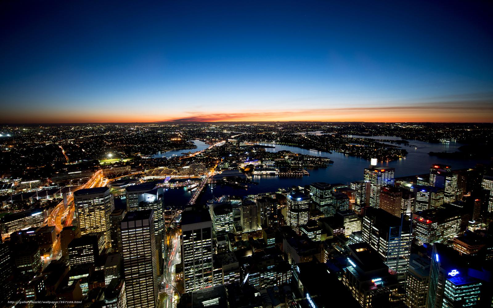 Скачать обои австралия сидней город