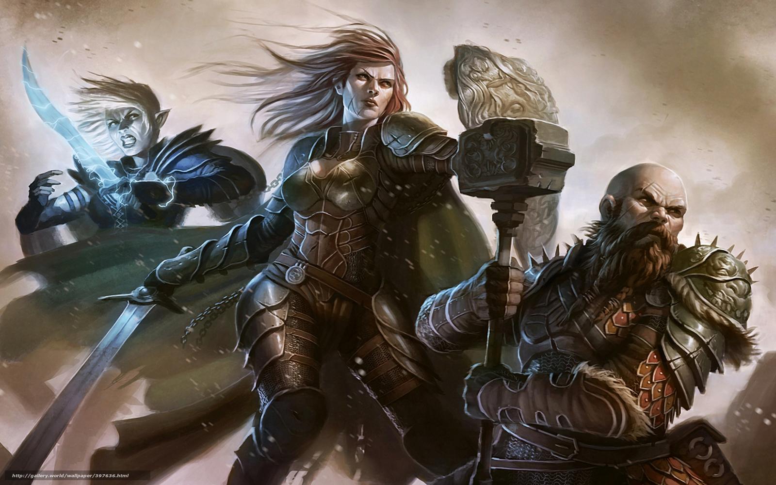 warrior elf desktop wallpapers - photo #35