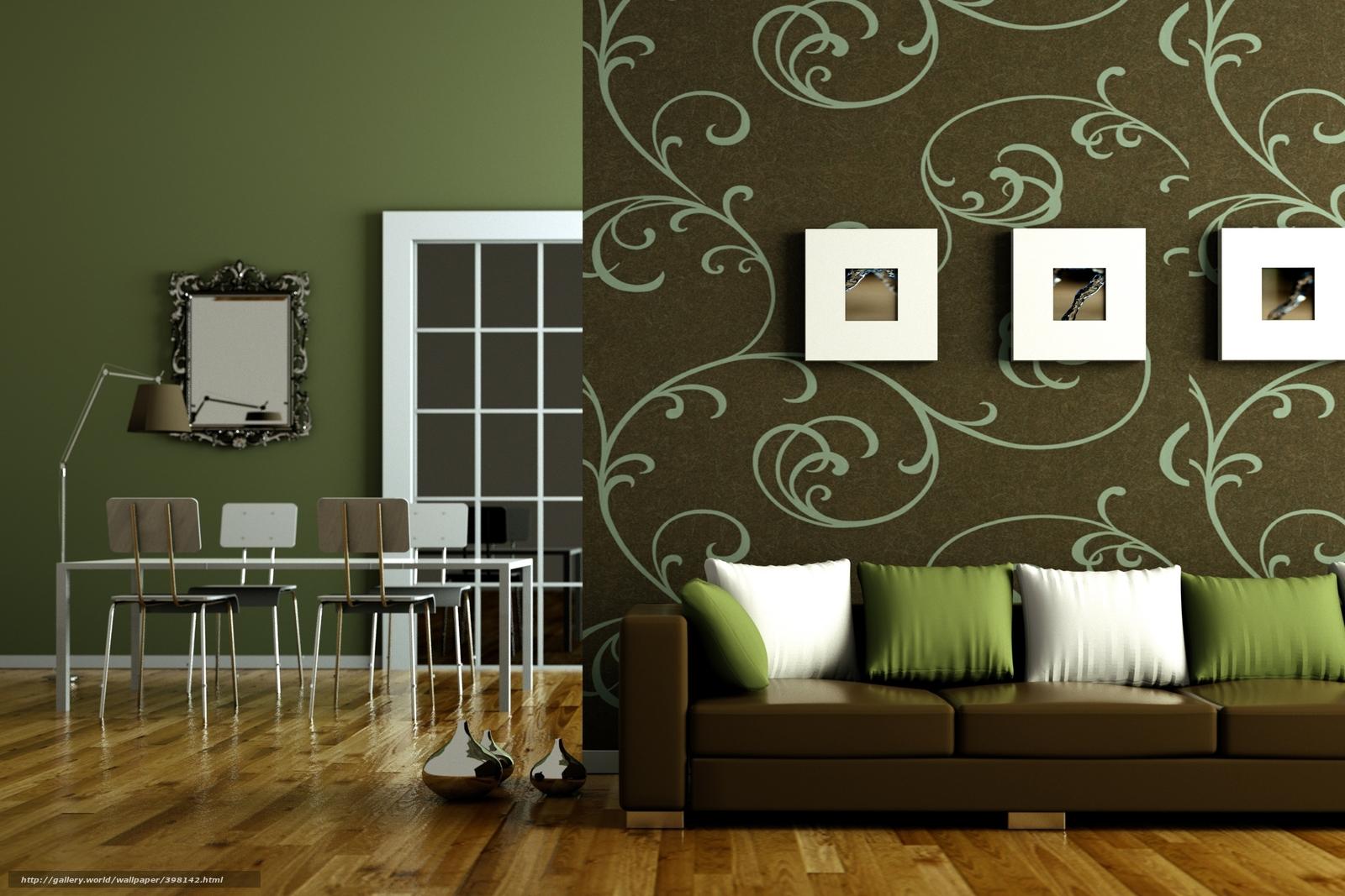Комбинирования обоев в гостиной фото идеи для квартиры