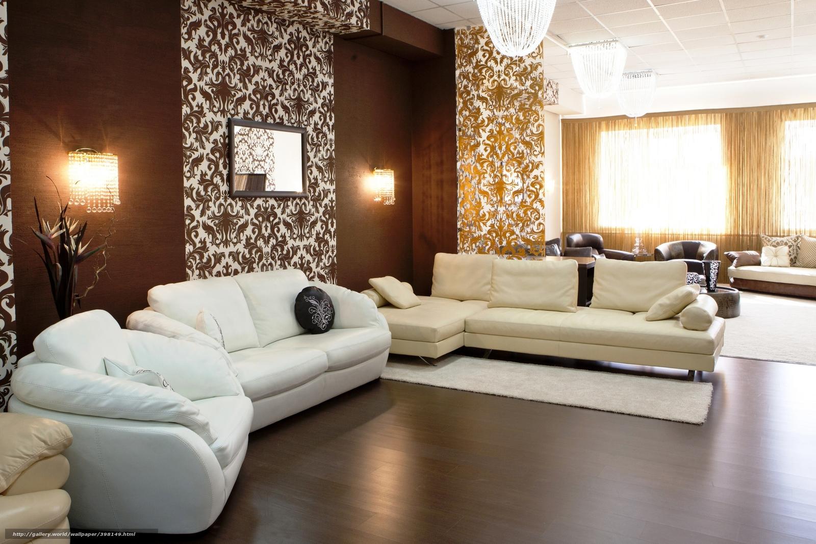 Sala De Estar Parede Marrom ~ projeto, bege, estilo, marrom, interior, sala de estar, sof, Branco