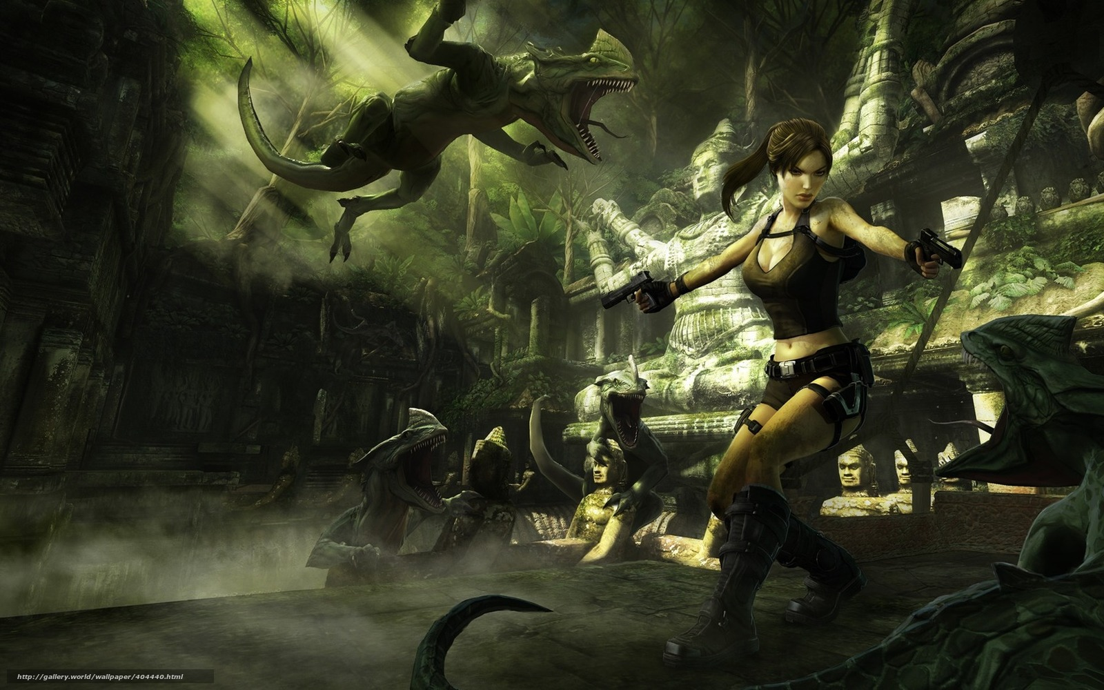 Download wallpaper Lara Croft, Tomb Raider, girl, weapon free desktop ...: www.gdefon.com/download/Lara-Croft_Tomb-Raider_girl_weapon_pangolin...
