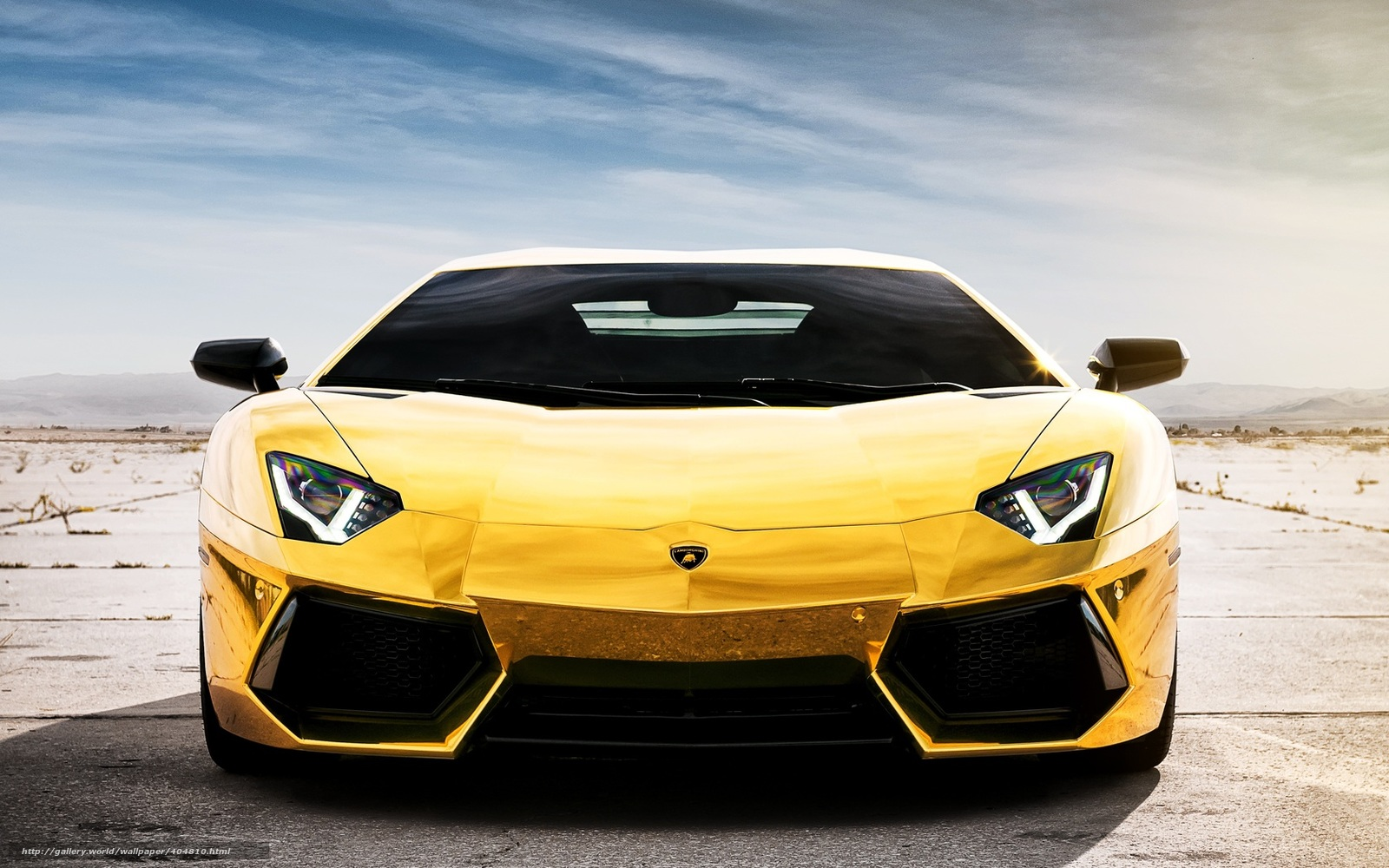 chrome gold car wallpaper - photo #12