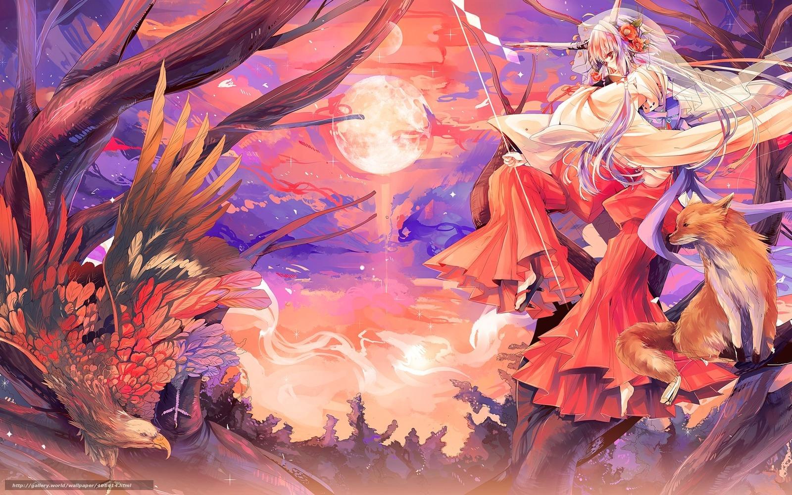 anime fox spirit wallpapers - photo #1