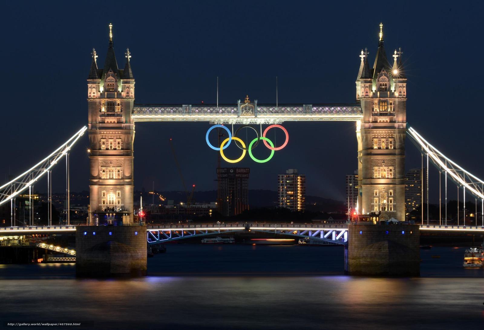 Скачать на телефон обои фото картинку на тему Лондон, река, Темза, мост,...