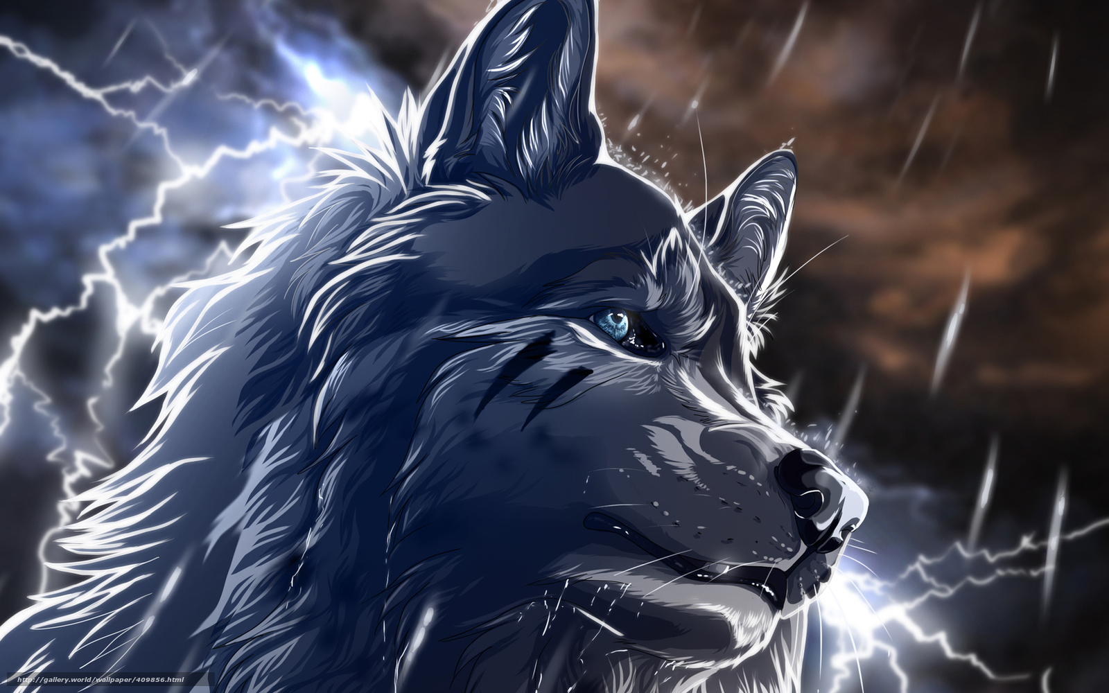 wolves and lightning wallpapers -#main