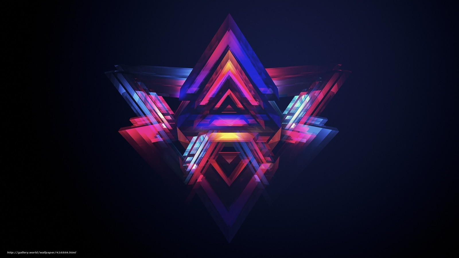 Abstraktion, kreativitt, triangles