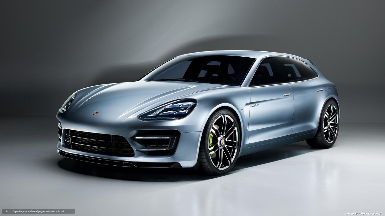 Tlcharger Fond D Ecran Porsche Panamera Concept Fonds D