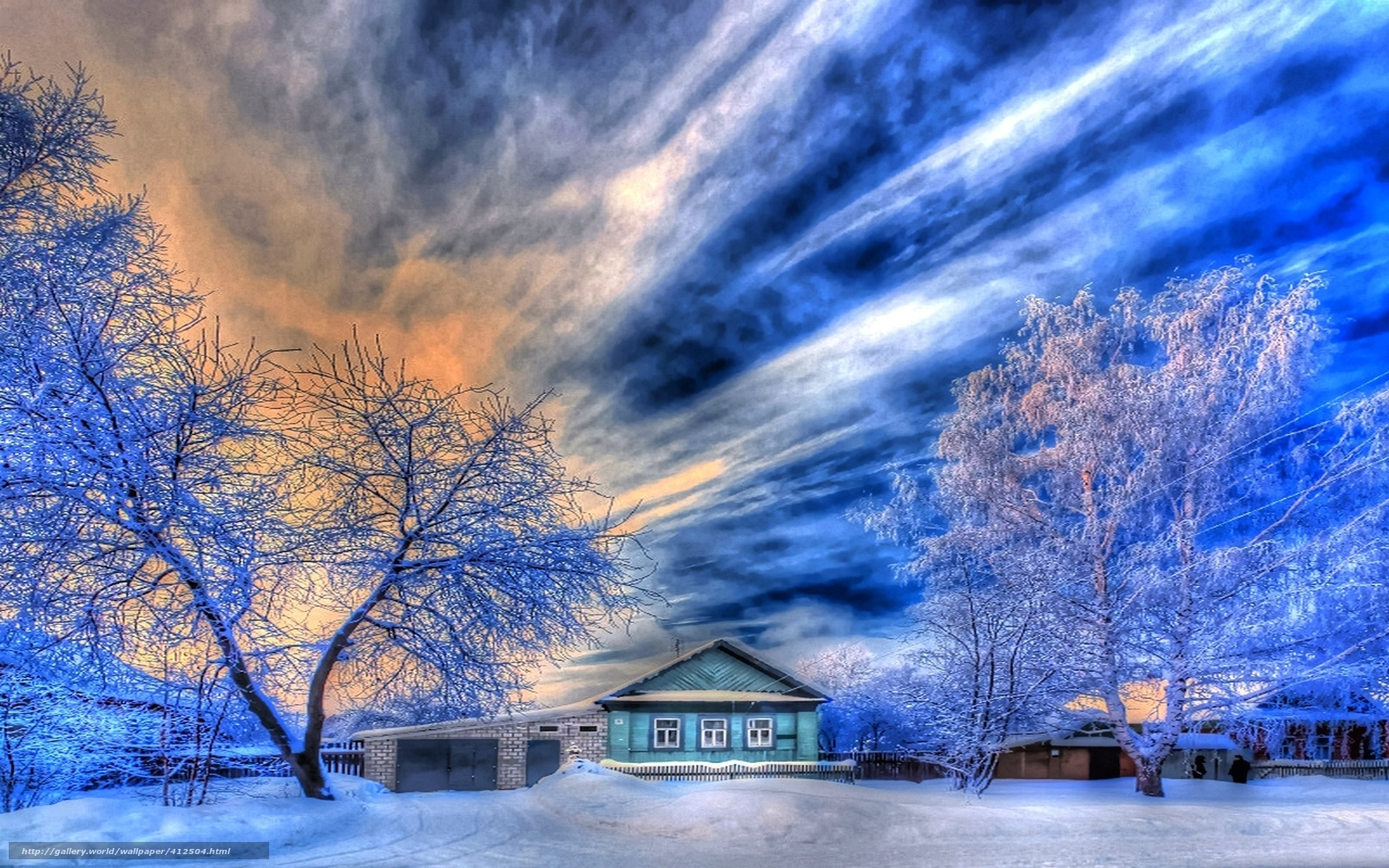 Scaricare gli sfondi natura inverno russo villaggio for Desktop gratis inverno
