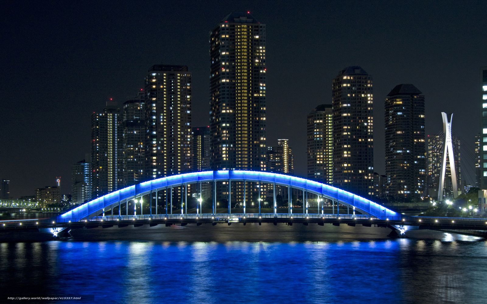 japan tokyo skyscrapers bridge - photo #9