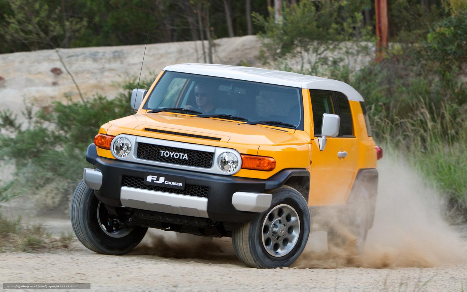 Download Wallpaper Toyota Efdzhey Cruiser Jeep Free